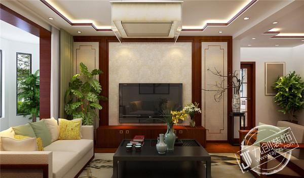 泰安山城国际127平【案例】-中式风格-泰安九创装饰