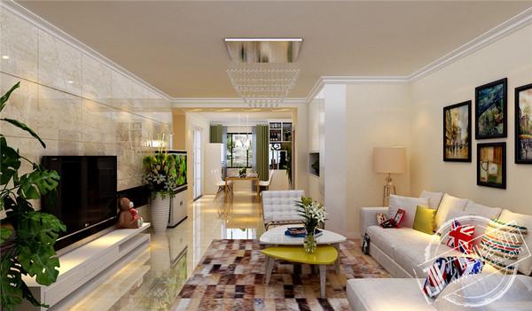 泰山云谷御和园装修效果图-150平米现代风格-泰安九创装饰