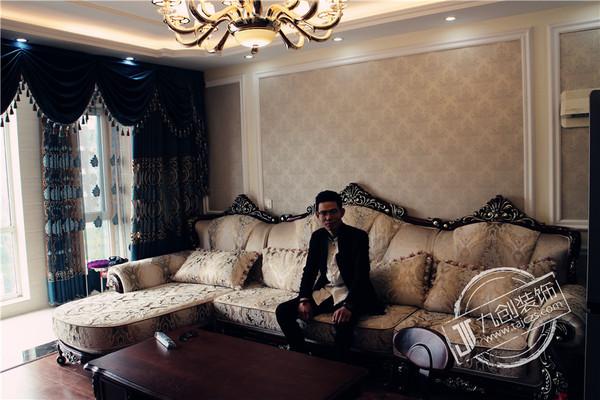 【实景】泰安海普凤栖湾140平米欧式风格装修实景拍摄图